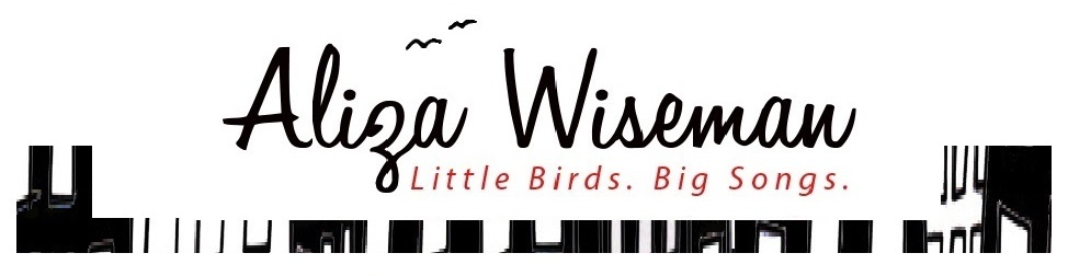 ALiza Wisman Little Birds Big Songs Header Logo